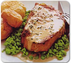 Biftek u umaku od estragona