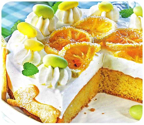 Torta s jogurtom i limunom