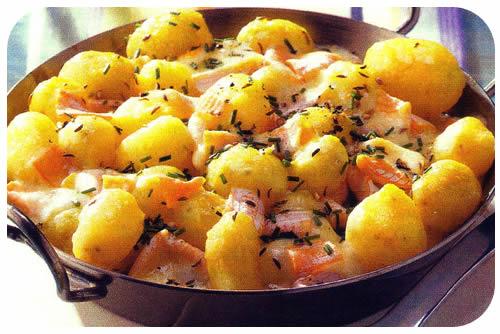 Krumpir sa sirom