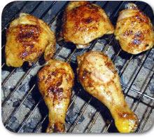 Pikantna piletina na  žaru