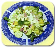Salata s gaudom