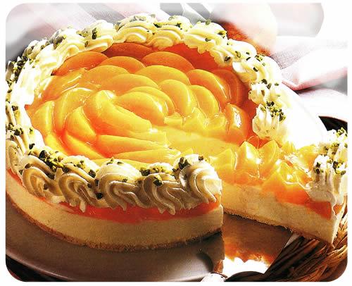 Torta od sira i bresaka